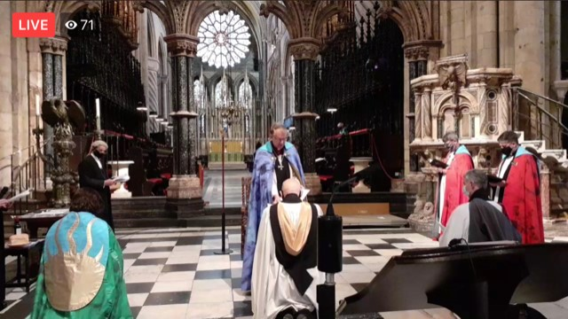 Father Paul - Durham Cathedral